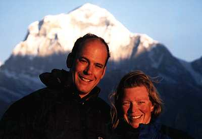 Pete Cunningham and Julie Bowlby - The principals of Adventure Learning